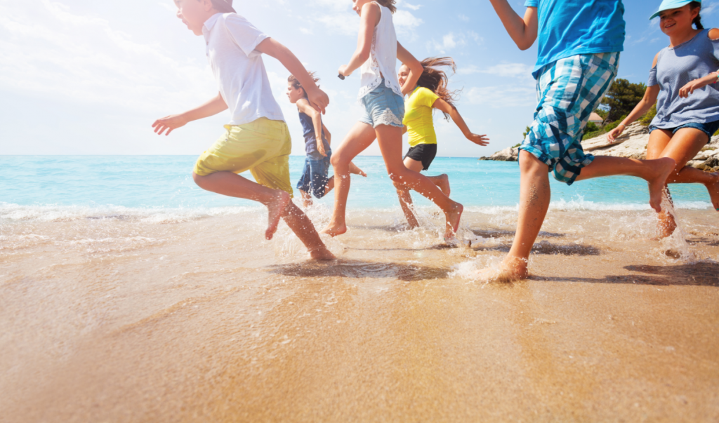 Kids at the Beach - Orthodontic